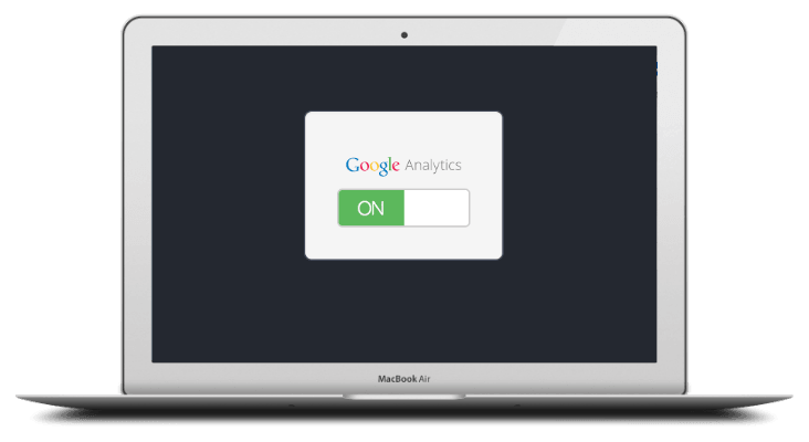 Send events to your installed Google Analytic