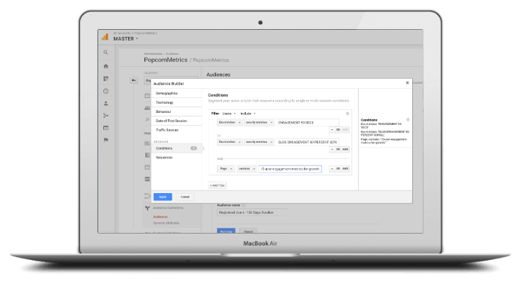 Adwords: Import Custom Audiences from Google Analytics